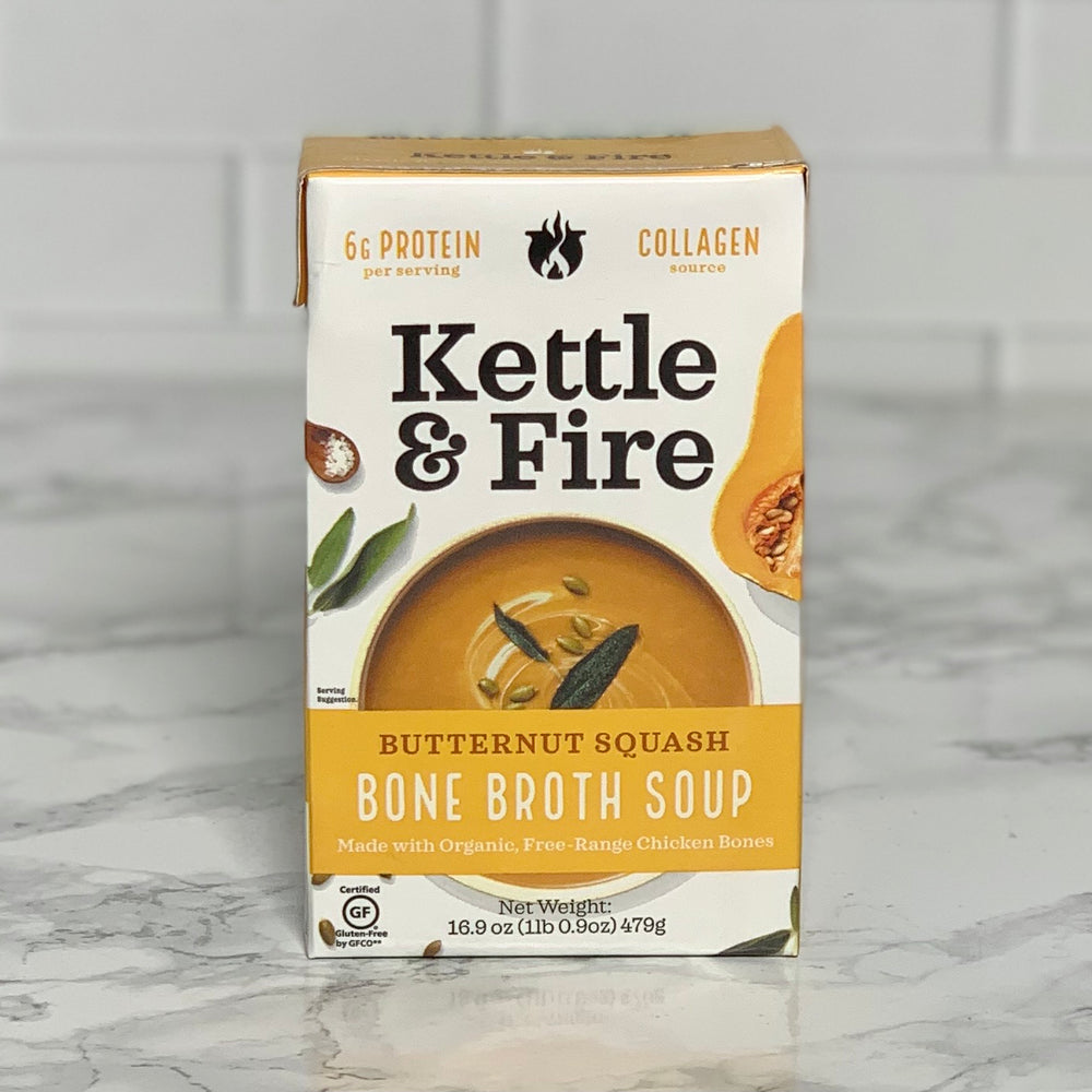 Load image into Gallery viewer, Butternut Squash Bone Broth Soup (16.9 oz)