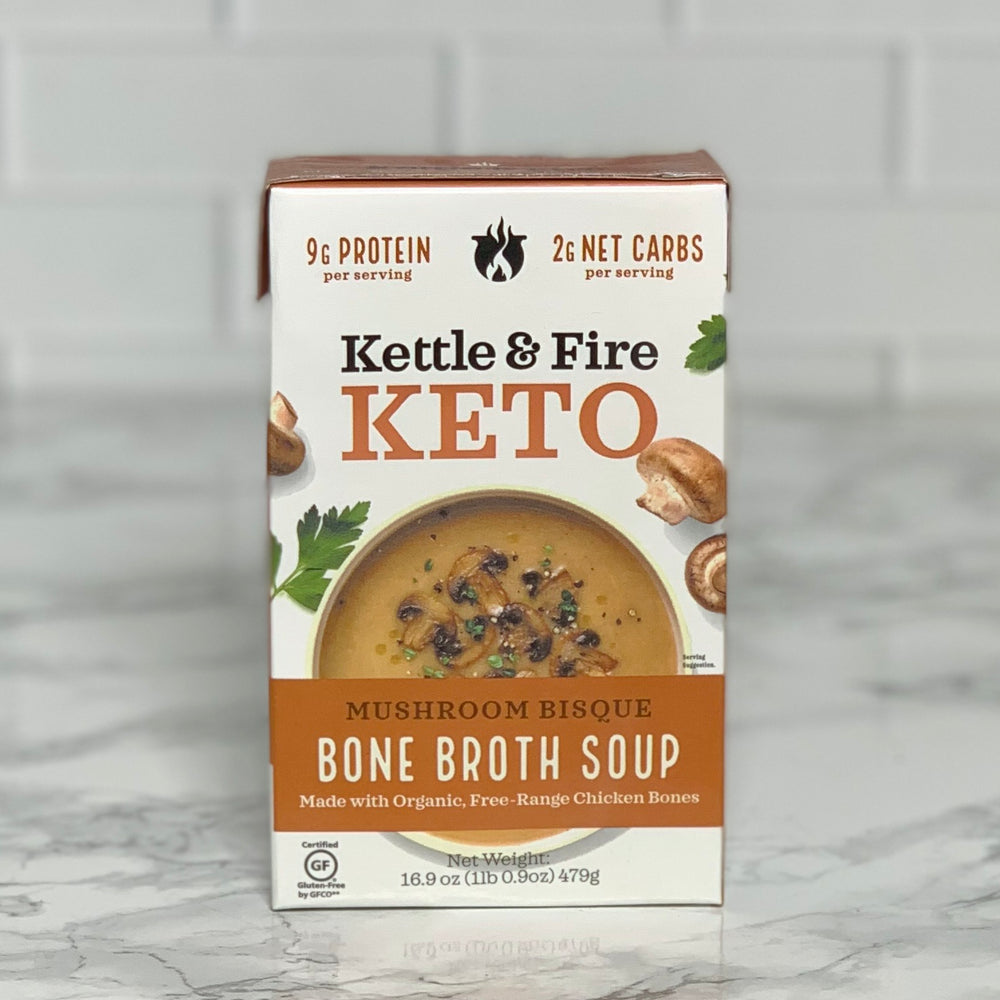 Mushroom Bisque Bone Broth Soup (16.9 oz)