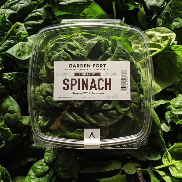 Spinach - 5oz Clamshell
