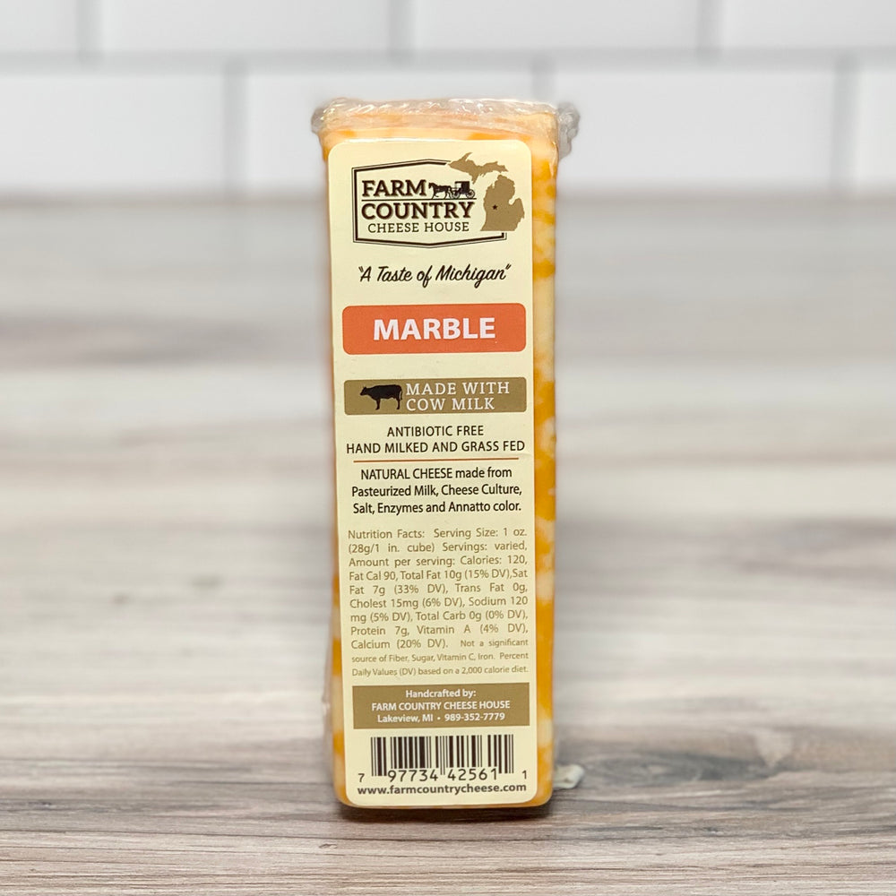 Grass-Fed Marble Cheese