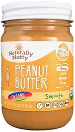 Organic Smooth Peanut Butter (12 oz)