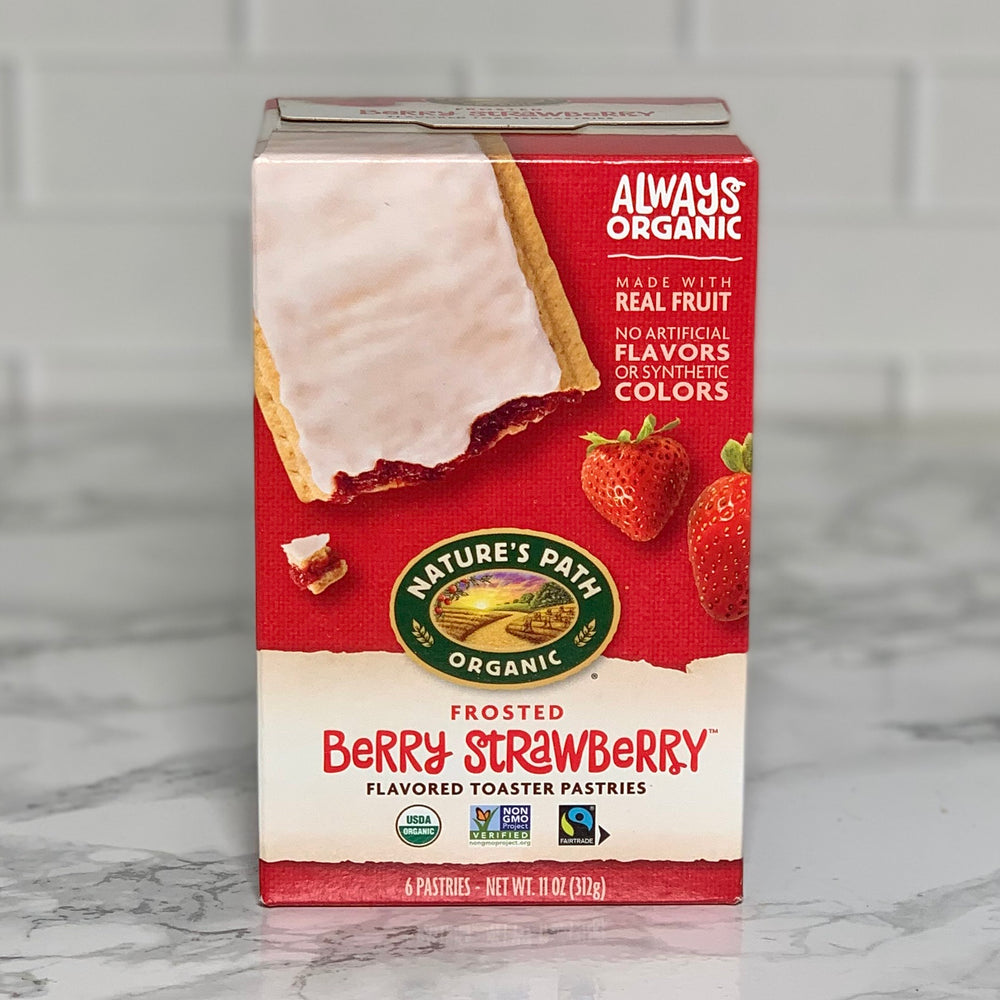 Organic Strawberry Toaster Pastries (6 Pastries, 11 oz)