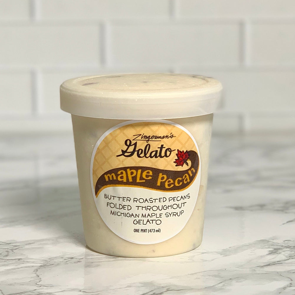 Maple Pecan Gelato (Pint)