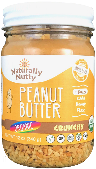 Load image into Gallery viewer, Organic Crunchy Peanut Butter (12 oz)