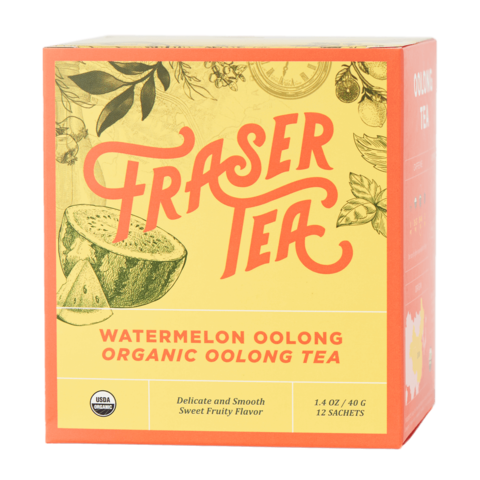 Organic Watermelon Oolong Tea (12 sachets)