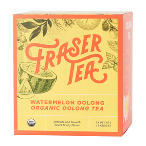 Load image into Gallery viewer, Organic Watermelon Oolong Tea (12 sachets)