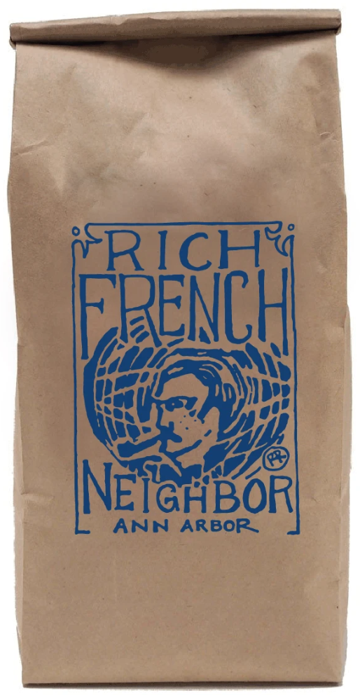 Organic Coffee Beans - Rich French Neighbor (Dark Roast)