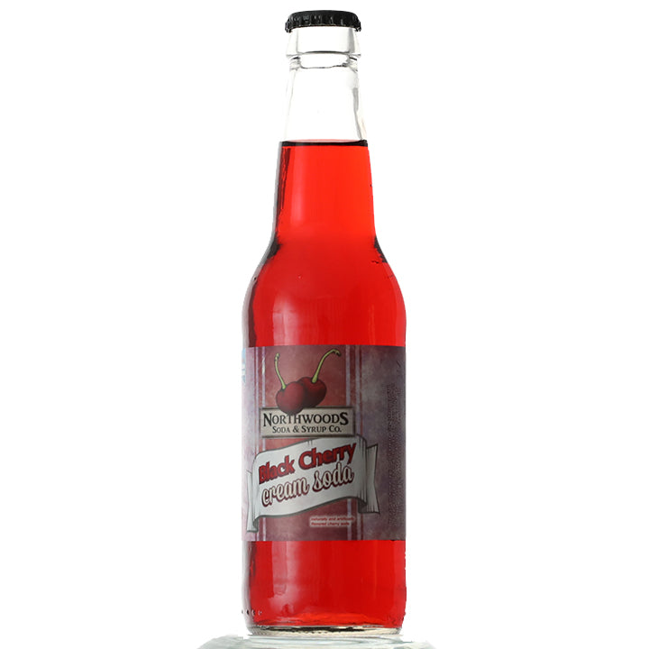 Black Cherry Cream Soda (12 oz)