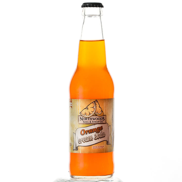 Orange Cream Soda (12 oz)