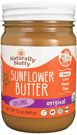 Organic Sunflower Butter (12 oz)
