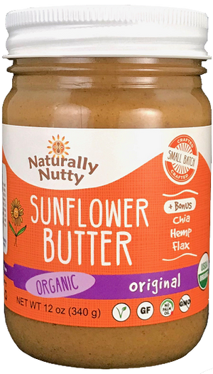 Load image into Gallery viewer, Organic Sunflower Butter (12 oz)