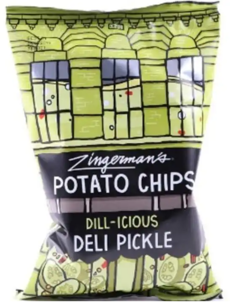 Deli Pickle Potato Chips (5 oz)