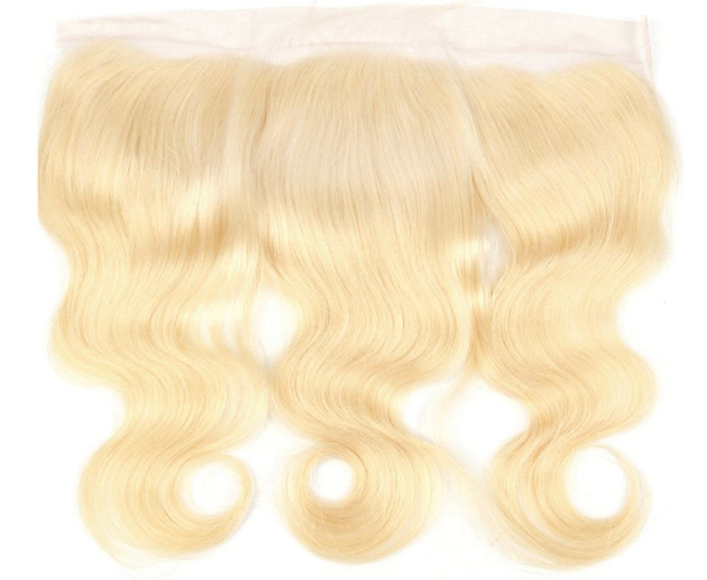 613 WAVY BLONDE LACE FRONTAL