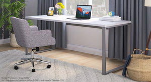 "VOI Rectangle Desk with O-Leg, 30"" D x 72"" W in Laminate"