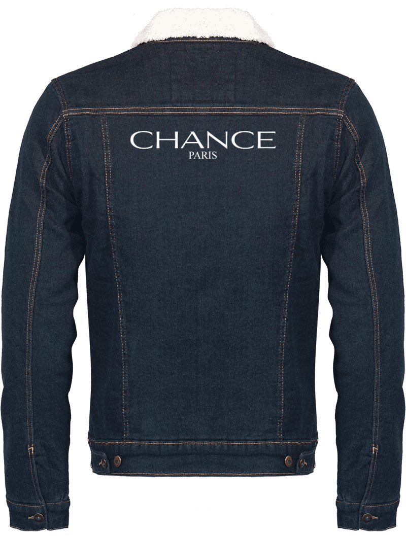 Chance Paris Men Jean Jacket