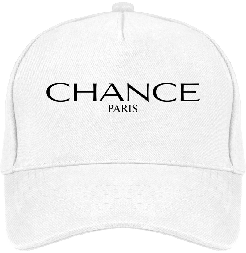Chance Paris Dad Hat Black Embroidered Logo