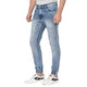 Studio Nexx Men's Slim Fit Denim Jogger