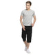 Studio Nexx Men Solid Cotton Three Fourth Shorts