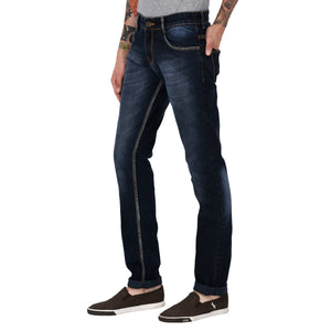 Studio Nexx Men's Blue Slim Fit Jeans