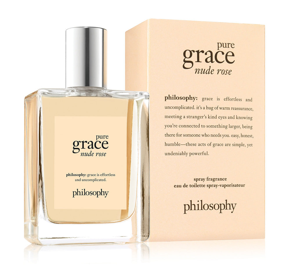 Pure Grace Nude Rose Eau De Toilette Spray