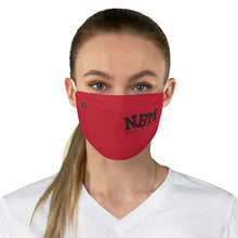 Load image into Gallery viewer, NBM - Red & Black Face MAsk
