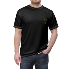 Load image into Gallery viewer, Devin Streeter Black AOP Style  T-shirts