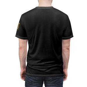 Devin Streeter Black AOP Style  T-shirts
