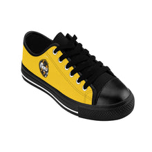 Load image into Gallery viewer, X World  . Gold Men's Sneakers