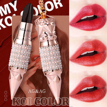Load image into Gallery viewer, Velvet Matte Lipstick Set box Luxury Queen Crown Matt Tricolor Lip Stick Makeup Long-lasting Waterproof Lips Cosmetics