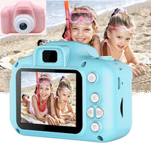 Load image into Gallery viewer, Real Mini Camera Kids Toys Cartoon 2 Inch HD Screen Digital Cameras Video Recorder Camcorder Language Switching Timed Shooting