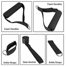 Load image into Gallery viewer, 11-Piece Resistance Band Set Workout Gainz