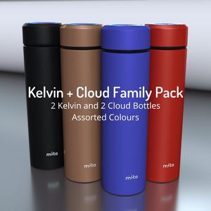 2 Kelvin + 2 Cloud