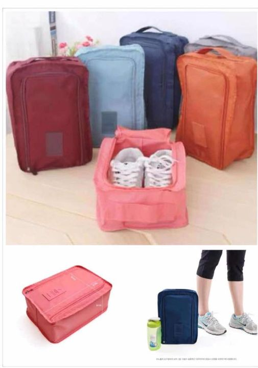 fashionme Waterproof Portable Travel Organiser Tote Shoes