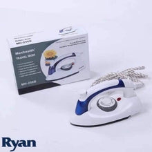 Load image into Gallery viewer, Mini Portable Foldable Electric Steam Iron For Clothes With