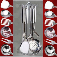 Load image into Gallery viewer, 7pcs Stainless steel kitchenware set Kitchen Tool