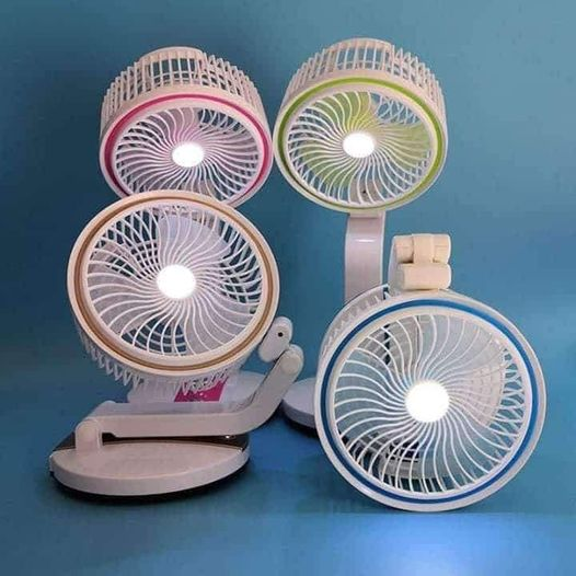 Foldable Fan w/Light