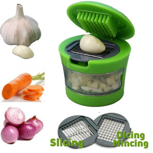 Mini Garlic Press Chopper Cutter Garlic Grinding Mashing Machine