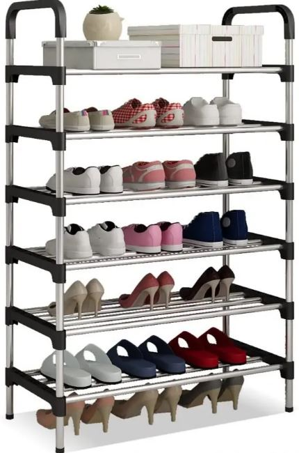 Metal Shoe Storage Organiser