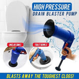 Air Power Drain Blaster, Suitable for Bathroom,Toilet,Bathtubs Sink,Kitchen,Showers