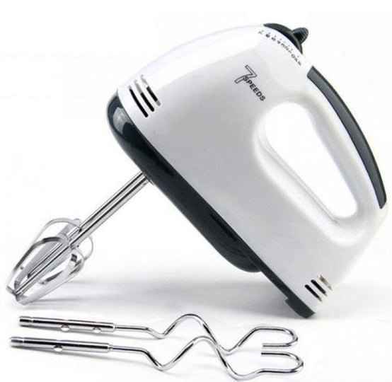 7 Speed Electric Hand Eggbeater Mixer