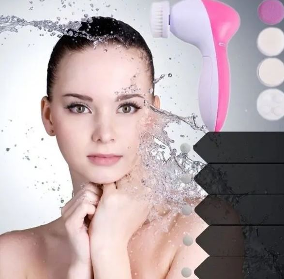 Beauty Face Massager Deep Cleanser Multinational Electrical Electric Wash Face Machine Skin Cleaner