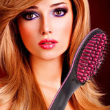 Electric Hair Styling Straightening Brush