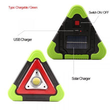 Load image into Gallery viewer, Triangle Warning Sign Triangle Car LED Work light Road Safety