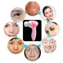 Load image into Gallery viewer, Beauty Face Massager Deep Cleanser Multinational Electrical Electric Wash Face Machine Skin Cleaner
