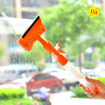 Multifunction Home Tools Spray Water Brush Cleaner Glass Cleaning Brush Glass Wiper Window Cleaner