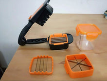Load image into Gallery viewer, 5 in 1 Multi-Function Slicer with Container Onion Cutter