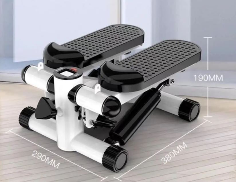 Portable Fitness Stair Stepper with Resistance
