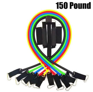 11 pcs. Resistance Bands for CrossFit Training