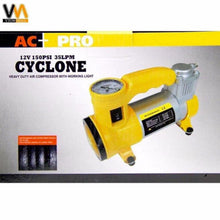 Load image into Gallery viewer, CYCLONE Heavy Duty Air Compressor w/ Working Light (Yellow)