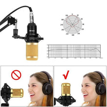 Load image into Gallery viewer, 800 Microphone Studio Recording Kits bm800 Condenser Microphone for Computer